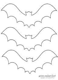 Printable Bat Mask Template Batman Stencil Pumpkin Carving Patterns ...