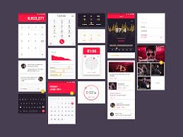 Psd Download Material Ui Kit Free Psd Template Psd Repo