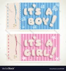 Its A Boy And Its A Girl Banners 1