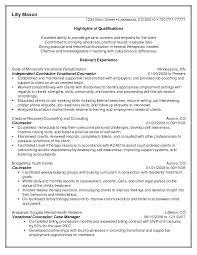 School Guidance Counselor Resume Sample Guidance Counselor Resume