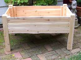 48 raised planter boxes on legs how to build and arrange a