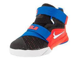 lebron boys shoes. nike oceania textile black red mens retro casual shoes 511879-060 [us size 7 lebron boys s