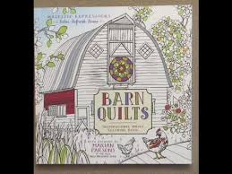 Barn Quilts - Inspirational Adult Coloring Book flip through - YouTube & Barn Quilts - Inspirational Adult Coloring Book flip through Adamdwight.com