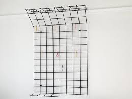 Wire Coat Rack Mid Century Geometric Wire Grid Coat Rack By Karl Fichtel Large 39