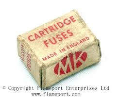 mk 5 amp bs646 cartridge fuses mk cartridge fuses made in england