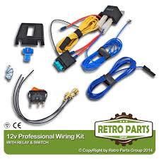jeep renegade fog driving light spot lamp pro wiring kit