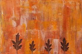 fall abstract paintings