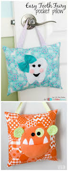 Easy Tooth Fairy Pocket Pillow The Ribbon Retreat Blog