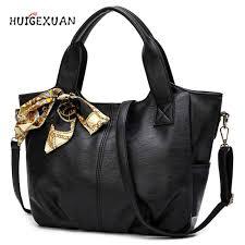 senarai harga leisure high quality soft leather designer handbag large capacity women messenger bags sac a main female scarves shoulder bags terkini di