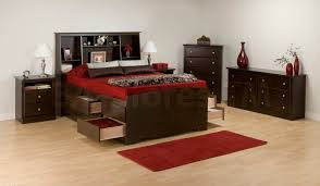 Bookcase Bedroom Furniture Bedroom Set With Bookcase Headboard Headboard Designs