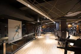 Fitness Club Design Studio Ardetes Idiosyncratic Indian Health Club Leaves