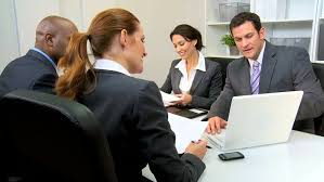 Young Business People Presenting Business Stock Footage Video 100