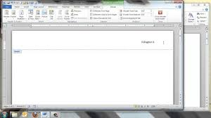 Mla Style In Word Formatting A Paper In Mla Style With Microsoft Word 2010 Youtube