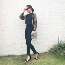 この夏は定番の黒コーデが大ブーム上手く着こなすコーデstylehair