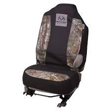 realtree camo camouflage universal seat cover auto accessories truck car 846571281451