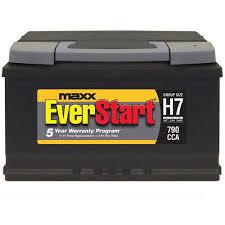 everstart maxx lead acid automotive battery group size h7 everstart maxx lead acid automotive battery group size h7