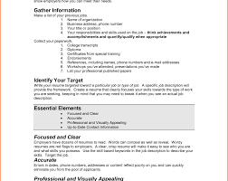 First Resume How To Write My First Resume Examples For Teens Job Teenagers 95