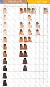 Wella Color Touch In 2019 Wella Hair Color Chart Hair