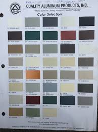 Efco Anodized Color Chart Aluminum Color Chart Related Keywords Suggestions