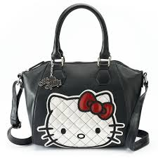 Hello Kitty Quilted Face Cross Body Handbag from Loungefly at ... & Hello Kitty Quilted Face Cross Body Handbag from Loungefly at Beadesaurus |  Free UK Shipping Over £25 Adamdwight.com