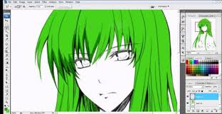 How To Shade Anime Hair In Photoshop Adult Coloring Pages