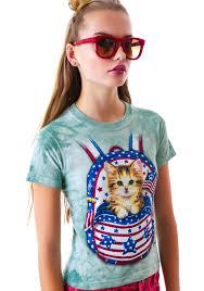 Patriotic Pussy Backpack Tee Dolls Kill