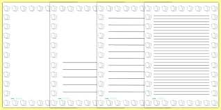 Preschool Page Borders Lines Template For Writing Lined Paper Portrait Page Borders