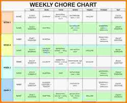 Chore Charts For Adults Printable Actual Chore Chart Adults Printable Chore Chart Multiple