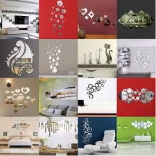 fashion silver acrylic 3d mirror effect wall stickers home decor vinyl stickers ebay on 3d mirror wall art stickers with fashion silver acrylic 3d mirror effect wall stickers home decor