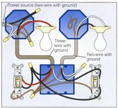 wiring a 2 way switch Basic Wiring For Lights 2 way switch with lights wiring diagram basic wiring for lights uk