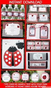 Ladybug Invitations Template Free 10 Unique Ladybug Baby Shower Invitations Your Guests Will