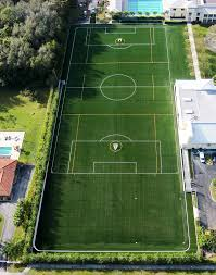 Artificial turf soccer field Natural Grass Soccer Field Construction Riviera Preparatory School Synthetic Turf Kiefer Usa Soccer Field Construction Design And Maintenance Sports Turf One