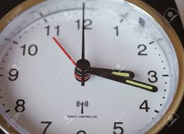 Receiving Gauge Design Radio Controlled Clock Receiving Time Signal From Time Code Transmitter