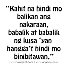 Love Quotes Sayings Custom Tagalog Sad Love Quotes And Sayings