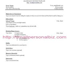 Resume For No Work Experience – Markedwardsteen.com