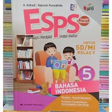 Esps matematika kelas 5 sd penerbit erlangga kurikulum 2013. Esps Bahasa Indonesia Kelas 5 Sd Mi Erlangga K13n Revisi Shopee Indonesia