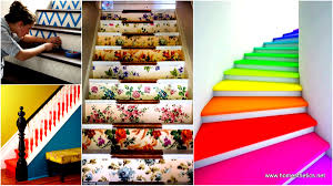 Redo Stairs Cheap 40 Diy Stair Projects For The Perfect Home Makeover