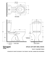 Standard Toilet Dimensions Clearance Toiletdimensionstoilet Water