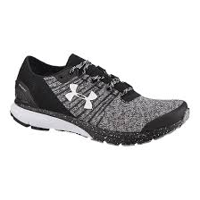 under armour running shoes black and white. under armour men\u0027s charged bandit 2 running shoes - black/grey black and white