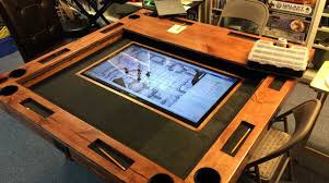 Wooden Game Table Plans How to Build a HighEnd Gaming Table for as Little as 100 Make 27