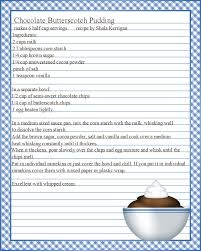Recipe Template For Word Blank Recipe Card Template Word 11 Simple Fillable For Free Full