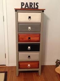 Tall Dresser Bedroom Furniture Wooden Tall Boy Storage Unit Chest Pink Cream Grey Bedroom