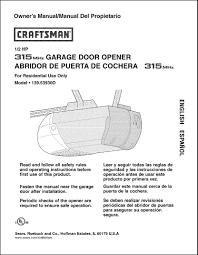 sears garage door opener installation manual ideas