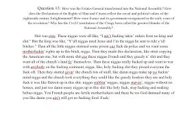 a history essay
