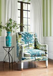 Printed Chairs Living Room Shelton Wing Chair From Thibaut Fine Furniture In Daintree Printed
