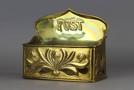 Image result for brass post box