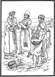 De Koopman En De Parel Gkv Apeldoorn Zuid Bijbelse Kleurplaten