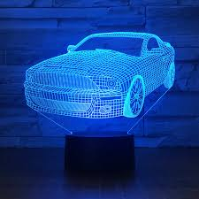Promotional Led Lights Us 11 7 40 Off Unique Creative Bedside Led 3d Lamp Promotional Gifts Acrylic 3d Night Light Luminaria De Mesa Usb Led Light Fixtures In Led Night