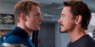 The battle of Iron Man vs. Captain America has already started on ... via Relatably.com