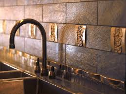 metal tile backsplashes